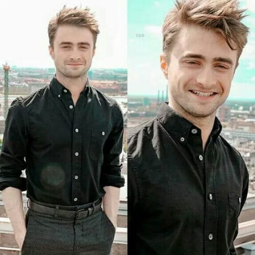 daniel radcliffe summer hairstyles for men