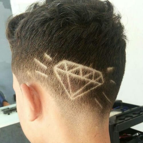 diamond hair designs for boys