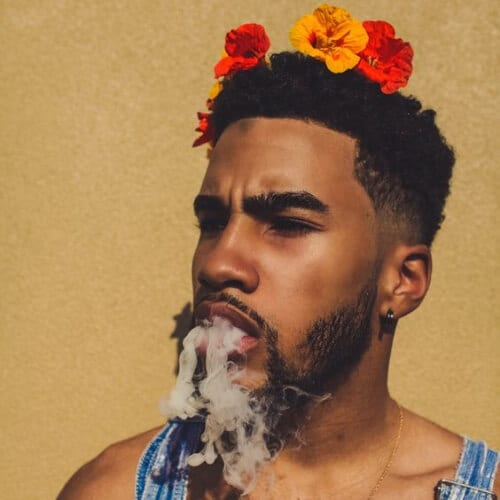flowery summer hairstyles for men