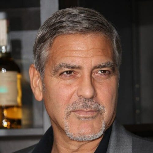 george clooney mustache and goatee styles