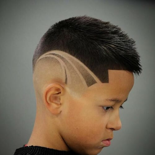 hair designs for boys