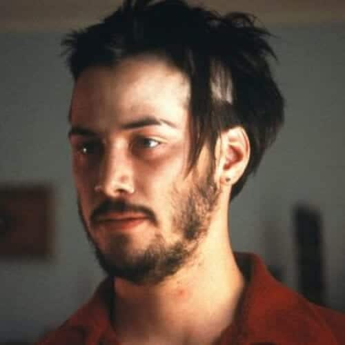 i love you to death keanu reeves hair