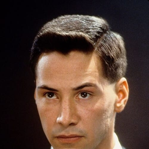 johnny mnemonic keanu reeves hair
