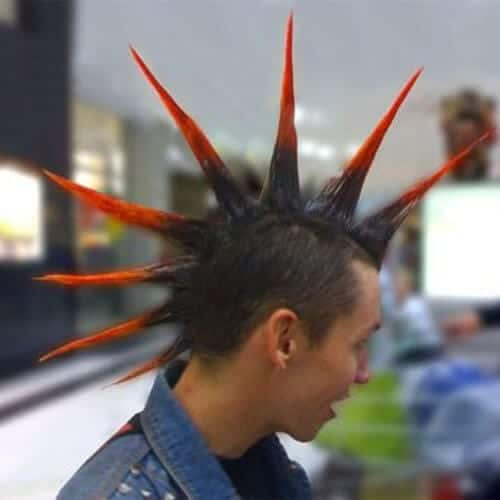 liberty spikes mohawk haircut