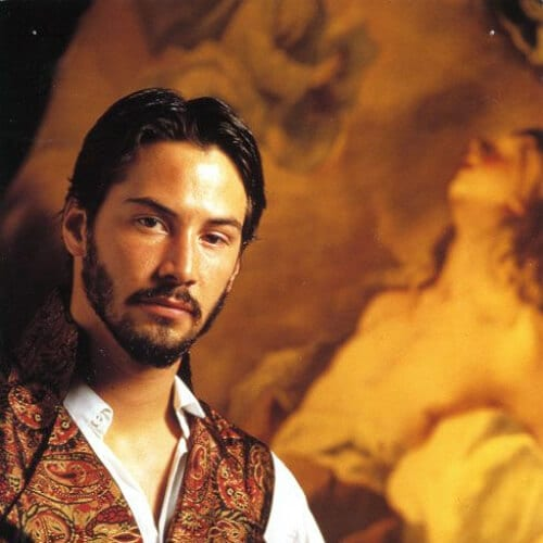 much ado about nothing keanu reeves hair