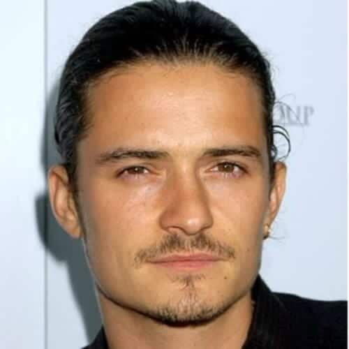 orlando bloom mustache and goatee styles