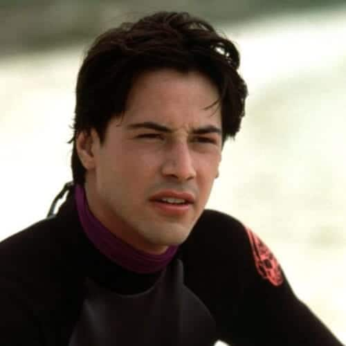 point break keanu reeves hair
