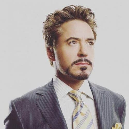 robert downey jr mustache and goatee styles