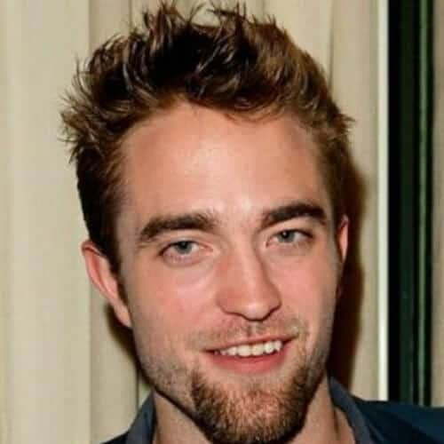 robert pattinson mustache and goatee styles