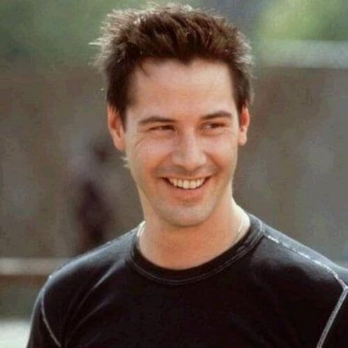 sweet keanu reeves hair