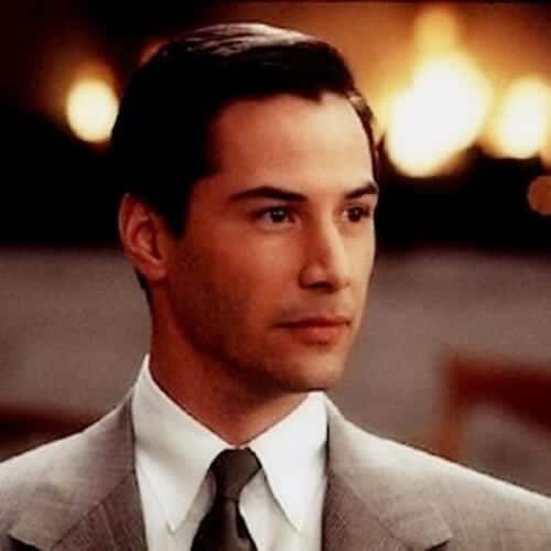 the devil's advocate keanu reeves hair