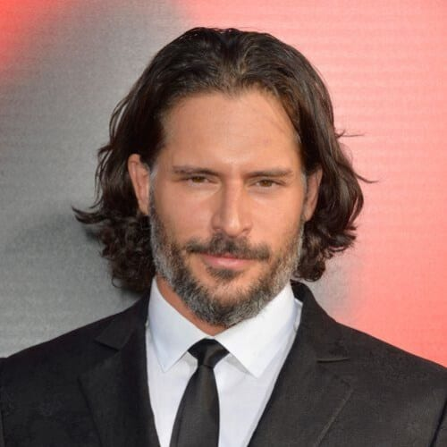 Joe Manganiello mens shoulder length hairstyles