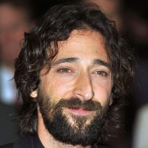 adrien brody mens shoulder length hairstyles
