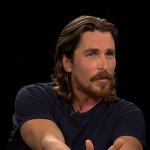 christian bale mens shoulder length hairstyles