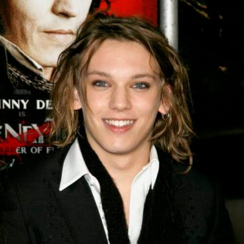 jamie campbell bower mens shoulder length hairstyles