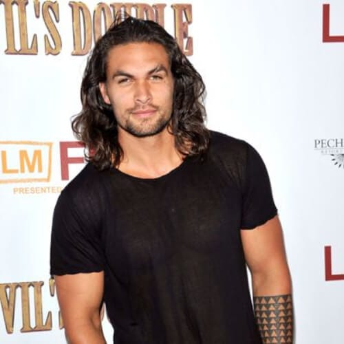 jason momoa mens shoulder length hairstyles