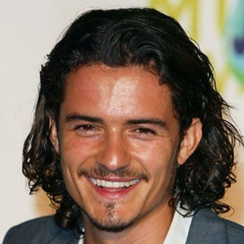 orlando bloom mens shoulder length hairstyles
