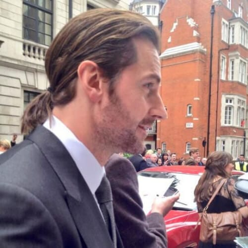 richard armitage mens shoulder length hairstyles