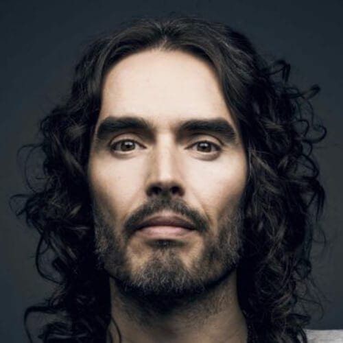 russell brand mens shoulder length hairstyles
