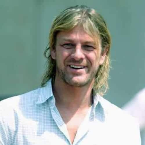 sean bean mens shoulder length hairstyles