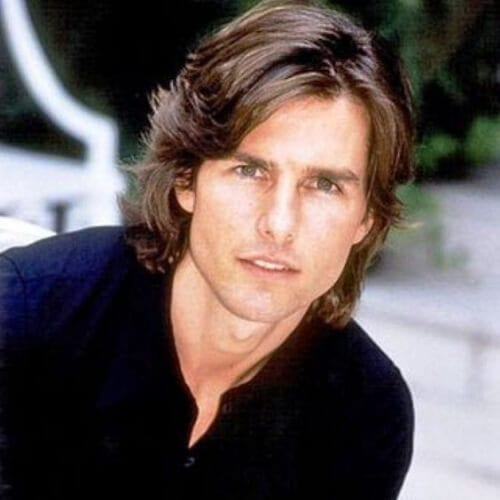 tom cruise mens shoulder length hairstyles