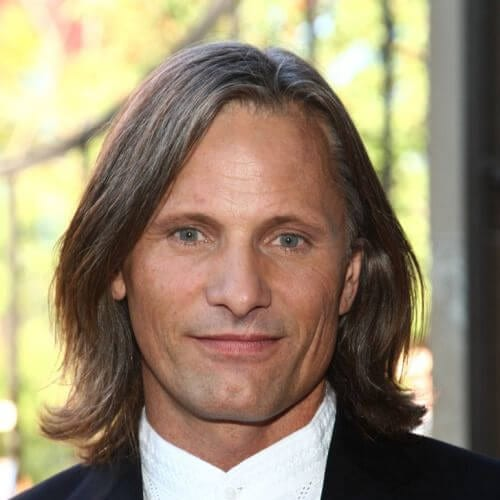 viggo mortensen mens shoulder length hairstyles