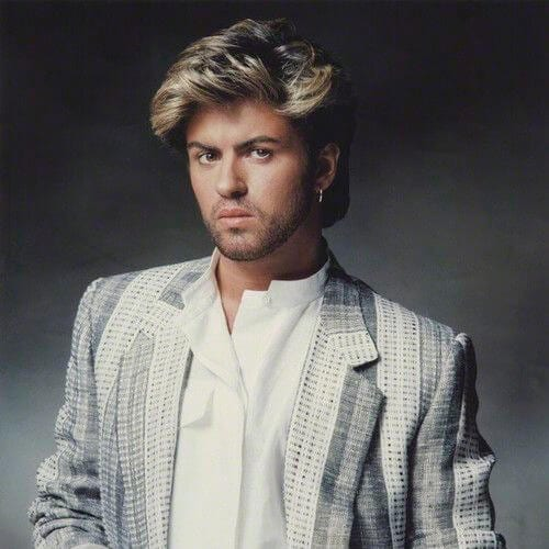 80s george michael old school haircuts