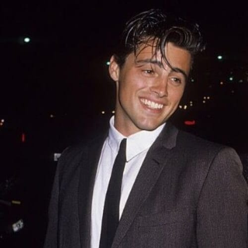 90s matt leblanc old school haircuts