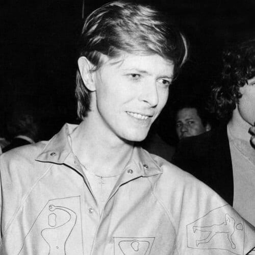 David Bowie en 1979 old school haircuts