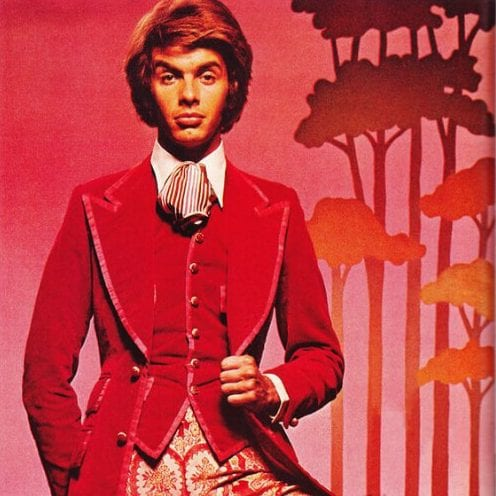Esquire declared the 'Peacock Revolution' in men's clothing 60s. Men began to wear bright colors and prints opposing the drab earlier decades old school haircuts