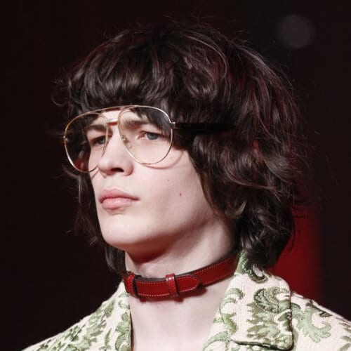 Gucci Fall 2016 old school haircuts