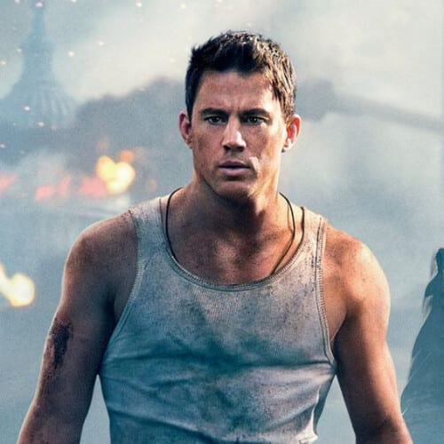 White House Down channing tatum haircut