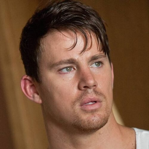 bangs channing tatum haircut