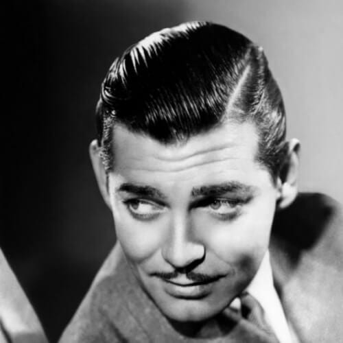 clark gable old school haircuts