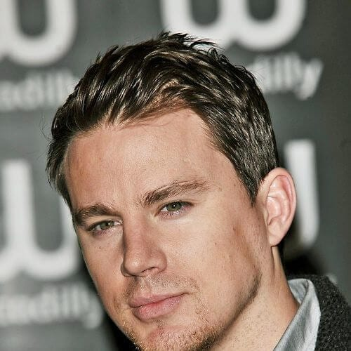 feathery channing tatum haircut