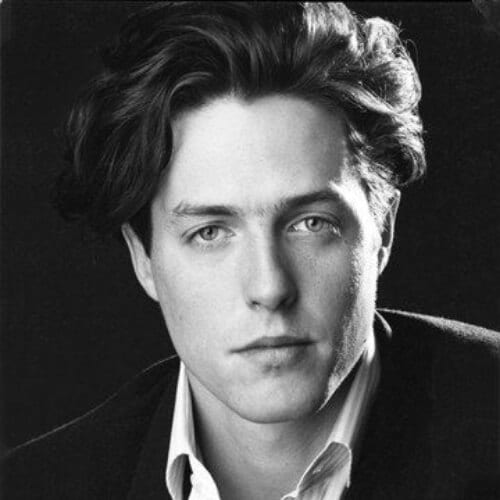 hugh grant 90s old school haircuts