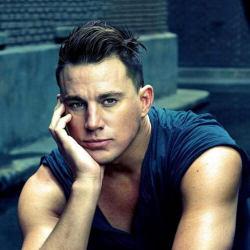 long top slick back channing tatum haircut