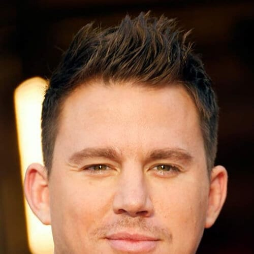 red carpet channing tatum haircut