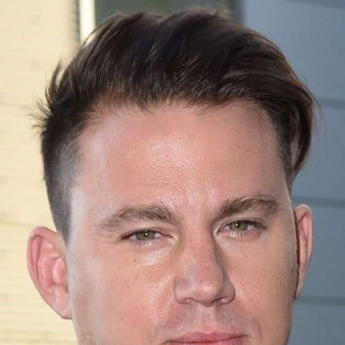 taper sides channing tatum haircut