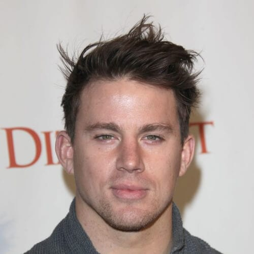 windswept channing tatum haircut