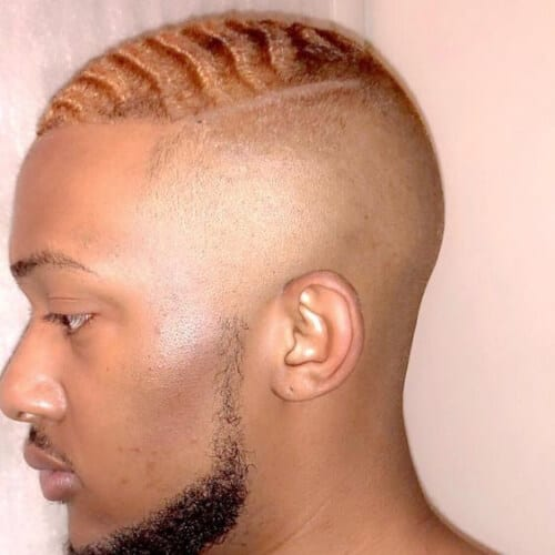 copper zero fade haircut