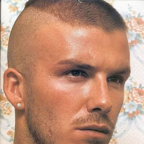 david beckham zero fade haircut