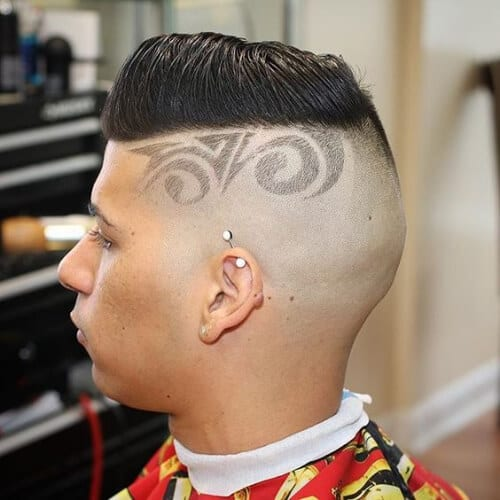 design zero fade haircut