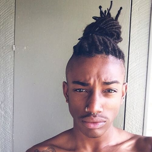 dreads zero fade haircut