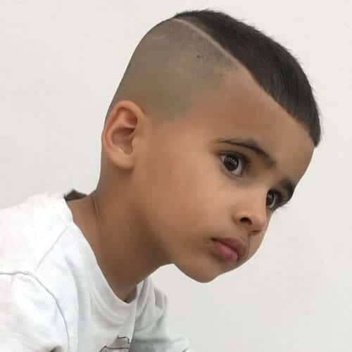 little boy zero fade haircut