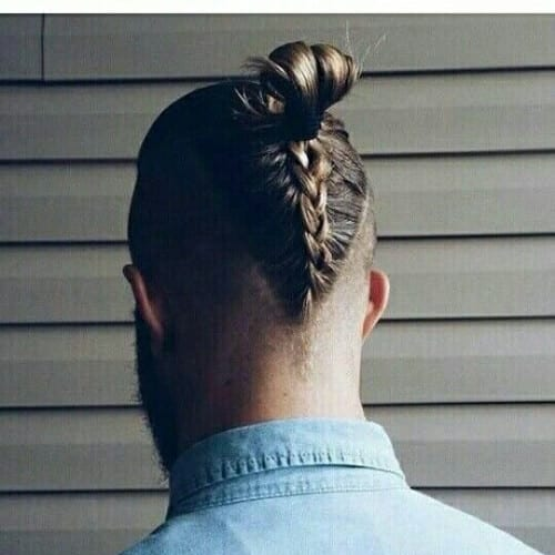 manbraid zero fade haircut