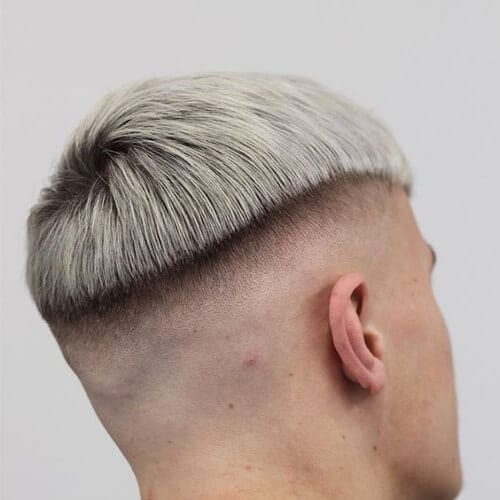 platinum zero fade haircut