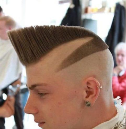 zero fade haircut