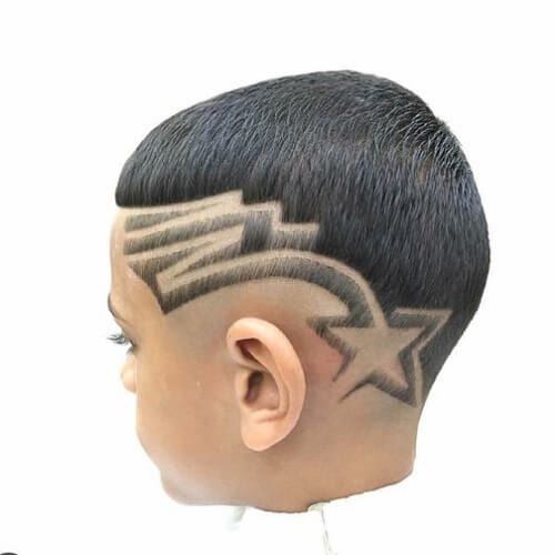 fresh star designs haircuts