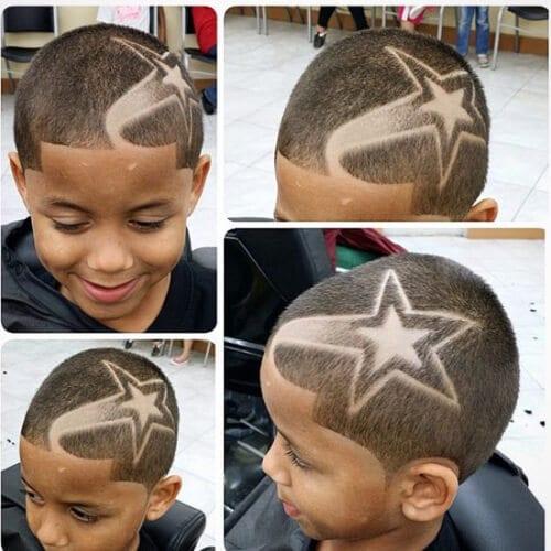 stars designs haircuts